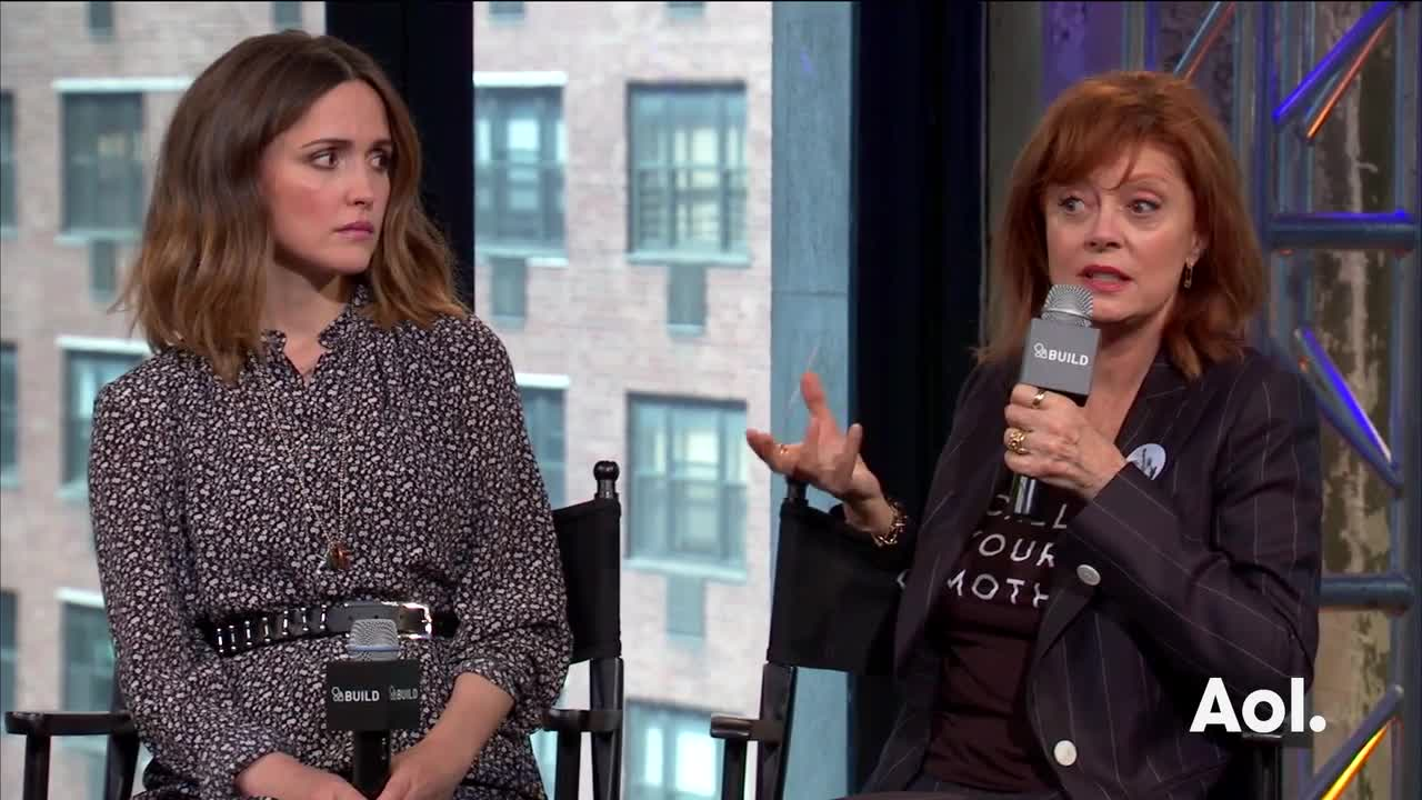 "Susan Sarandon, Rose Byrne, And Lorene Scafaria On ""The Meddler"""