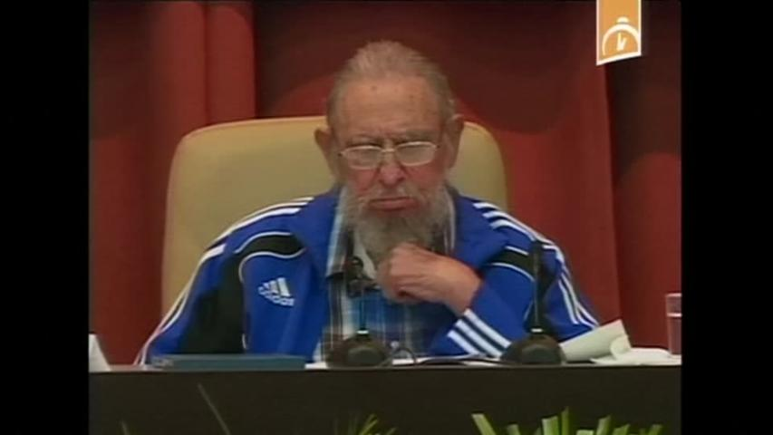 Fidel Castro Speaks from What Could Be His Last Congress