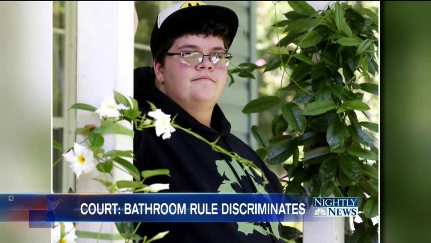 Appeals Court Sides With Transgender Student in Virginia Bathroom Case