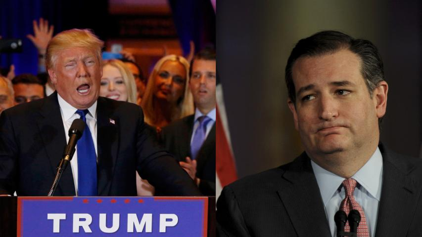 Trump slams Cruz while celebrating big New York win