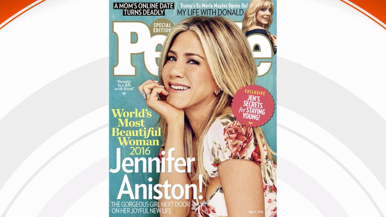 See why Jennifer Aniston, 47, is People magazine's Most Beautiful Person