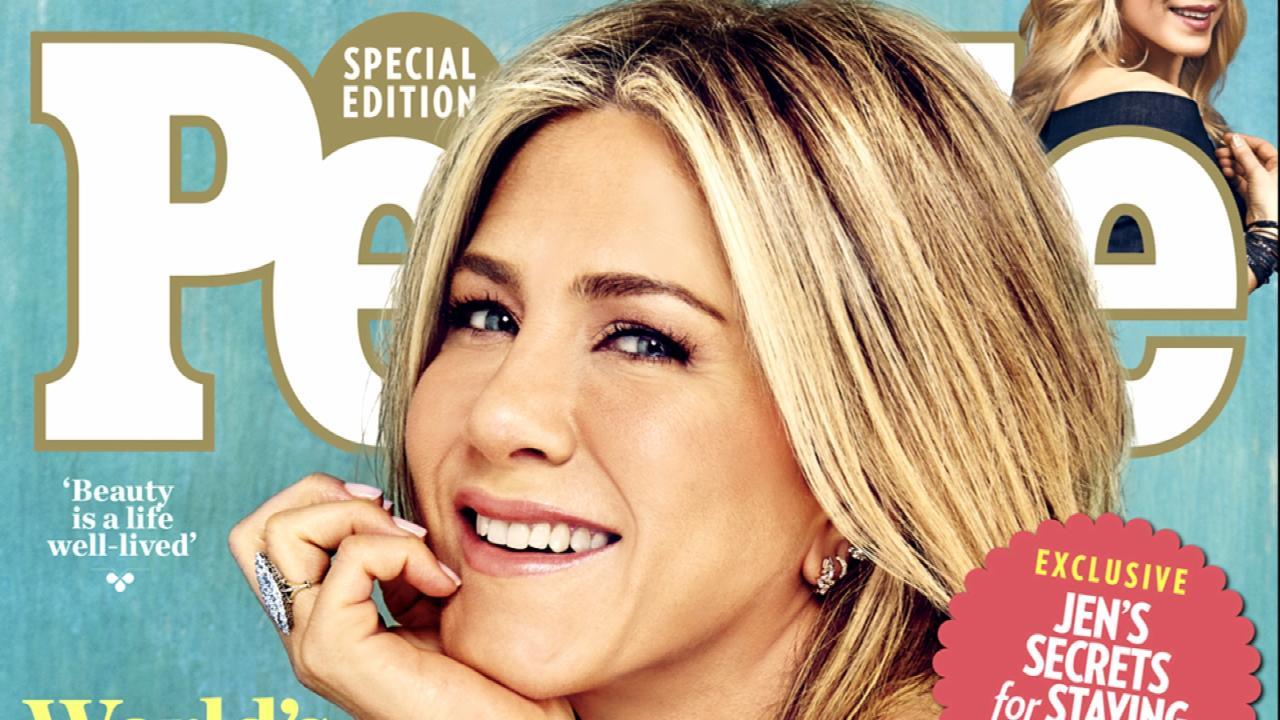 "Jennifer Aniston Is ""PEOPLE's"" ""Most Beautiful Woman"""