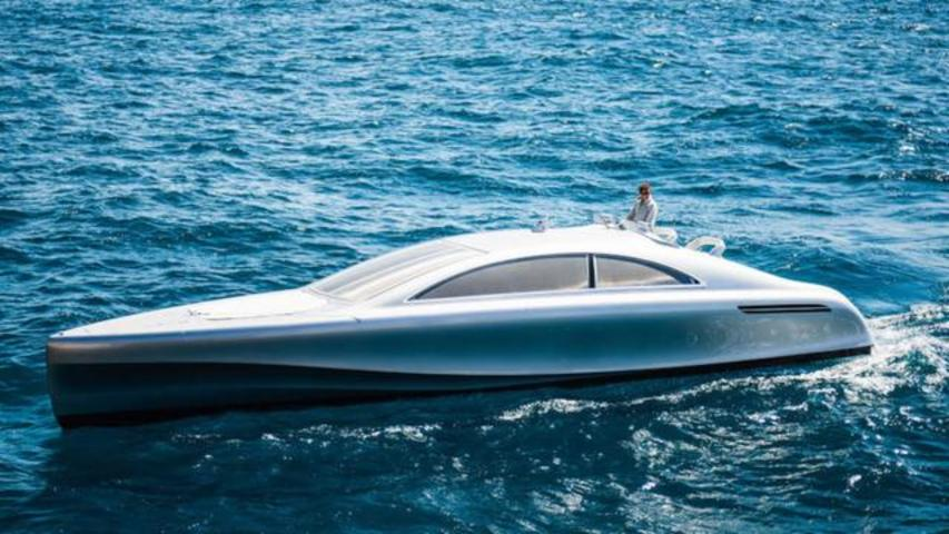 Mercedes-Benz Enters Yacht Market With A 46-Foot Luxury Extravaganza