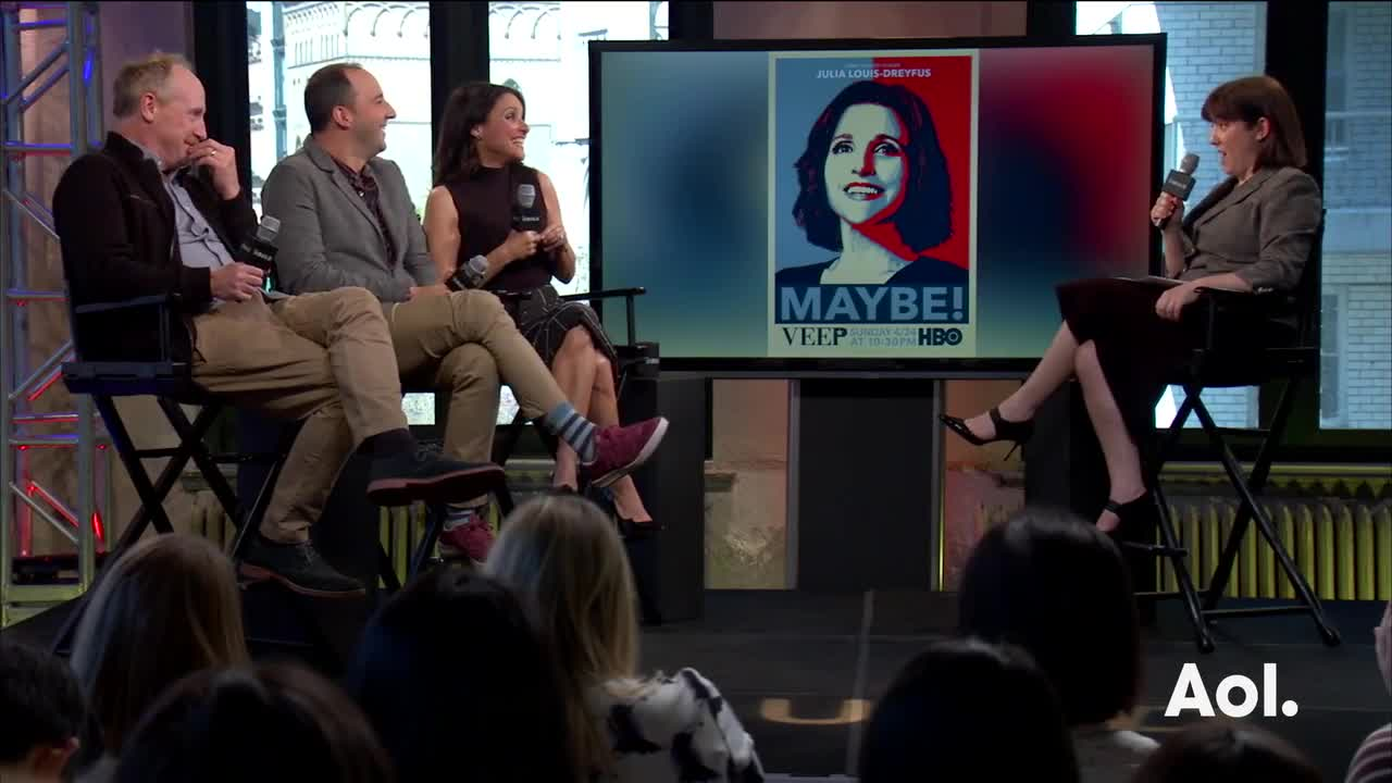 "Julia Louis-Dreyfus, Matt Walsh, And Tony Hale On ""Veep"""