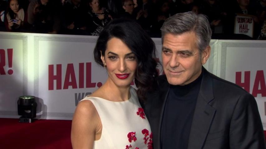 George Clooney Gushes About His Wife Amal