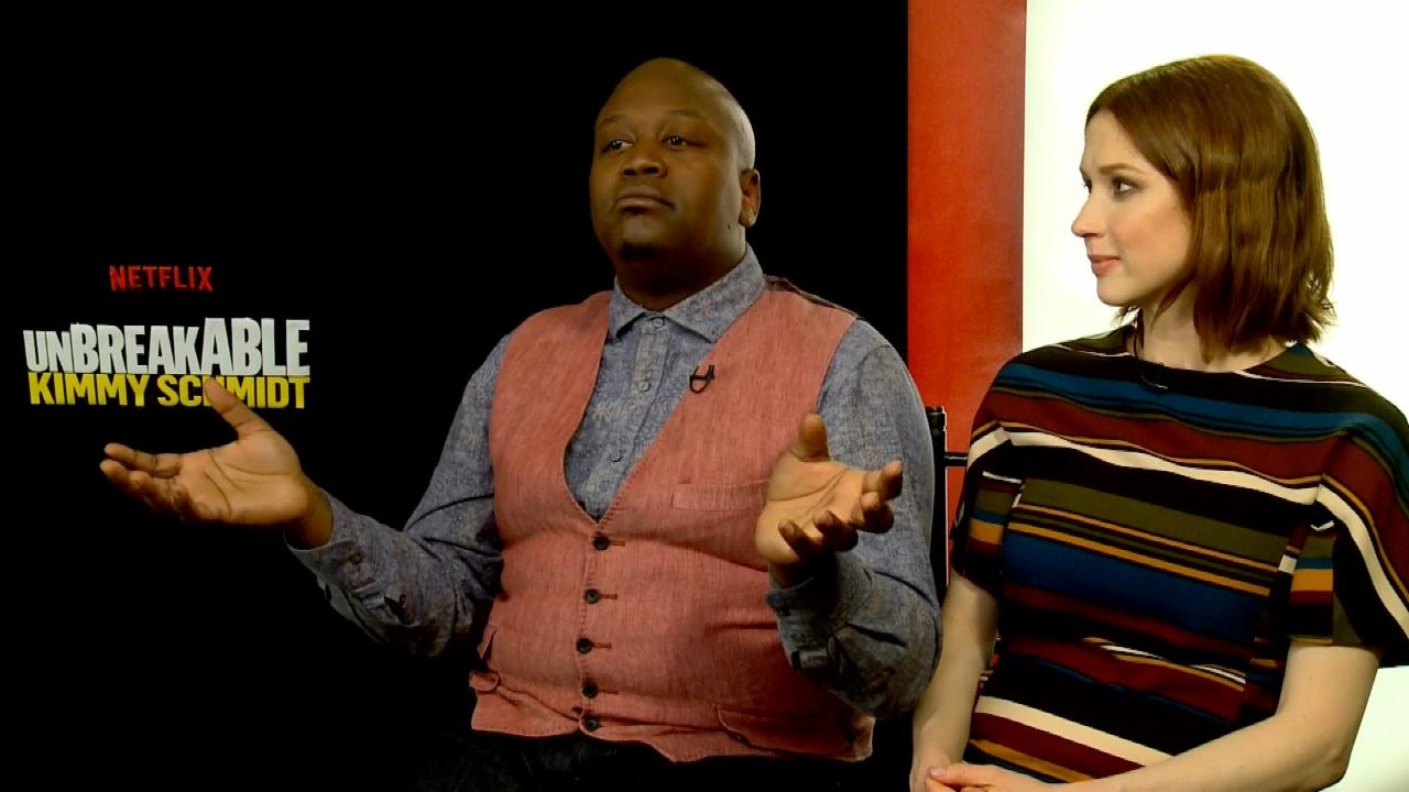 """Unbreakable Kimmy Schmidt"" Actors Spill on Season 3"