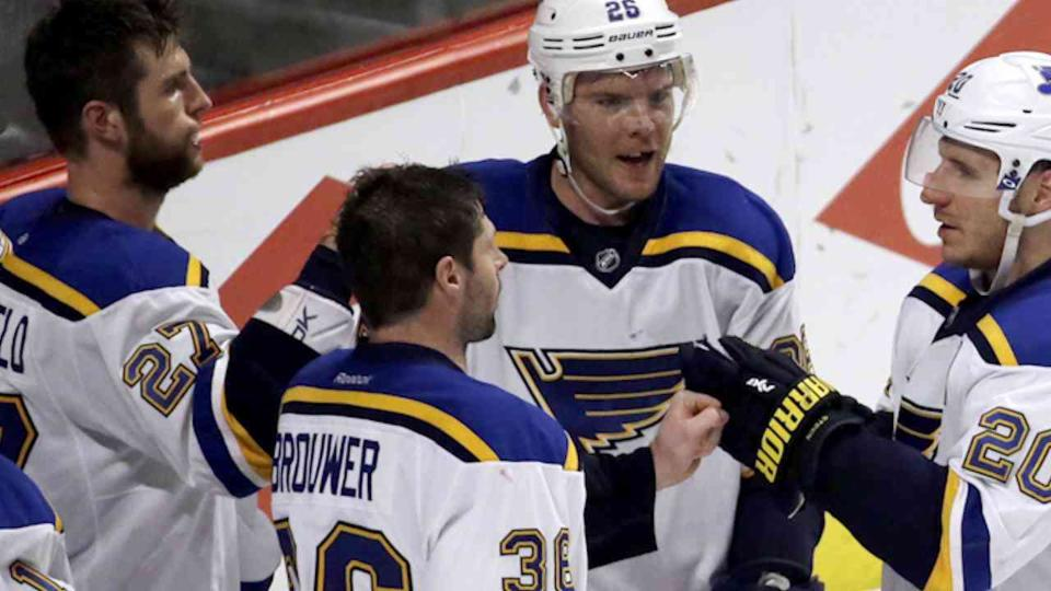 Gordo's Zone: Blues Growing in Playoffs