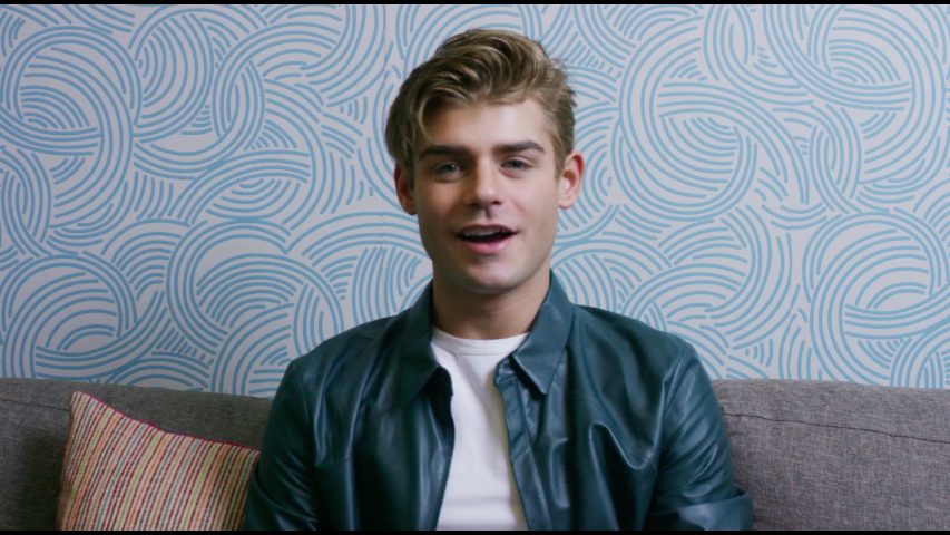 Garrett Clayton talks TrIBeca Film Festival with #KanvasLive