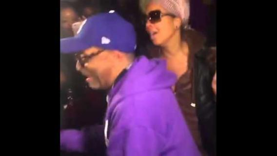 Spike Lee Dances With Crowd at Block Party in Remembrance of Prince