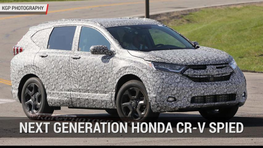 Next Generation Honda CR-V Spied | Autoblog Minute