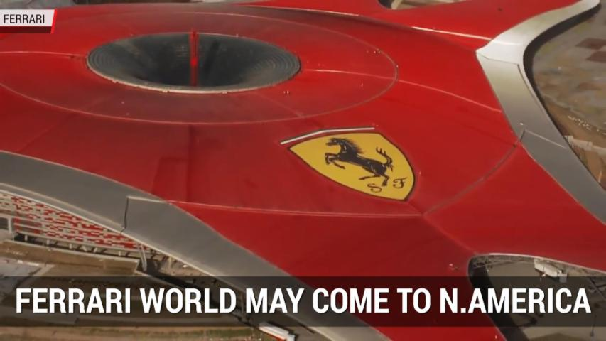 Ferrari World May Be Comming To North America | Autoblog Minute