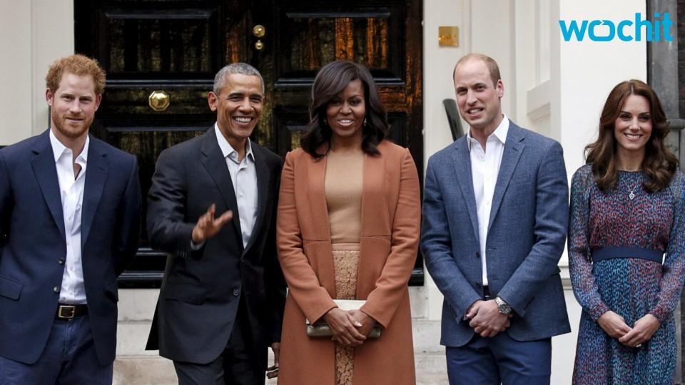 The Obama's Evening With Prince William & Kate Middleton