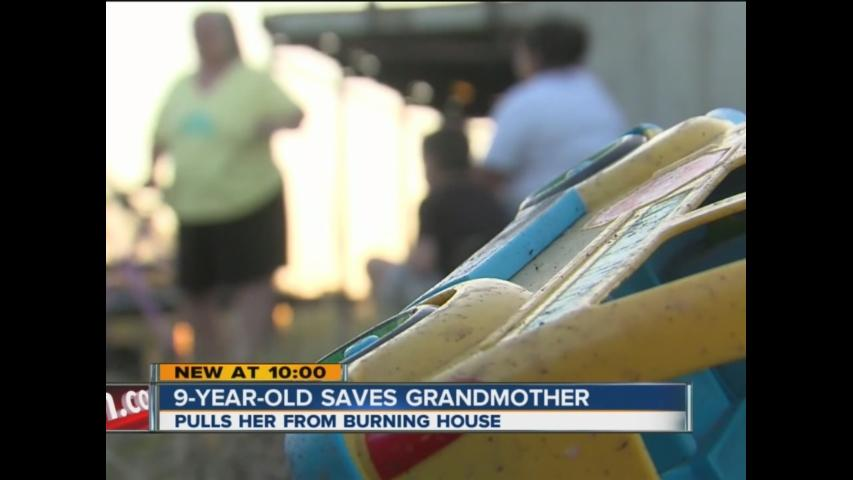 9-Year-Old Saves Grandmother