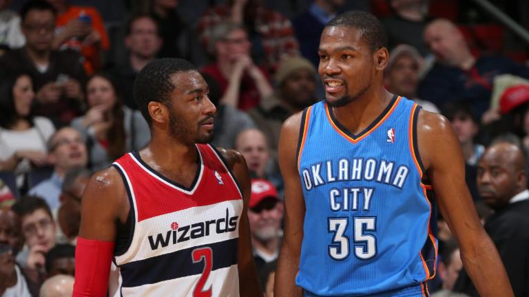 John Wall: Wizards Didn't Hire Scott Brooks to Get Kevin Durant