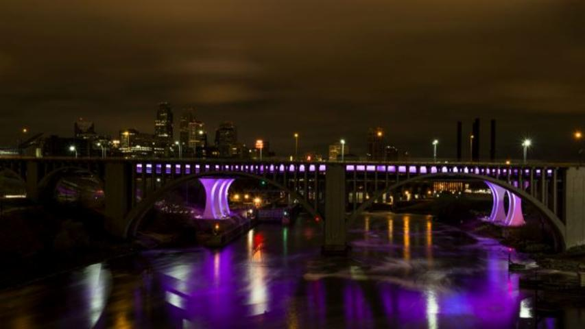 Purple Rain Forever? Purple Could Be the Official State Color of Minn.