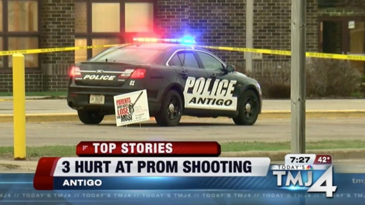 Shooting Outside a Wisconsin High School's Prom Injures 3 People