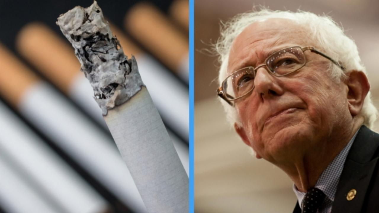 Bernie Sanders Doesn't Think Cigarette and Soda Taxes Are Comparable