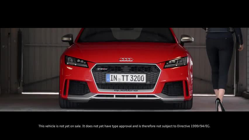 2017 Audi TT RS Coupe and Convertible | Automaker Footage