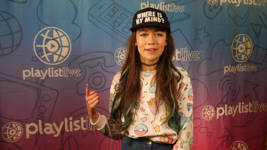 Social star Jessie Paege talks to #KanvasLive at Playlist Live