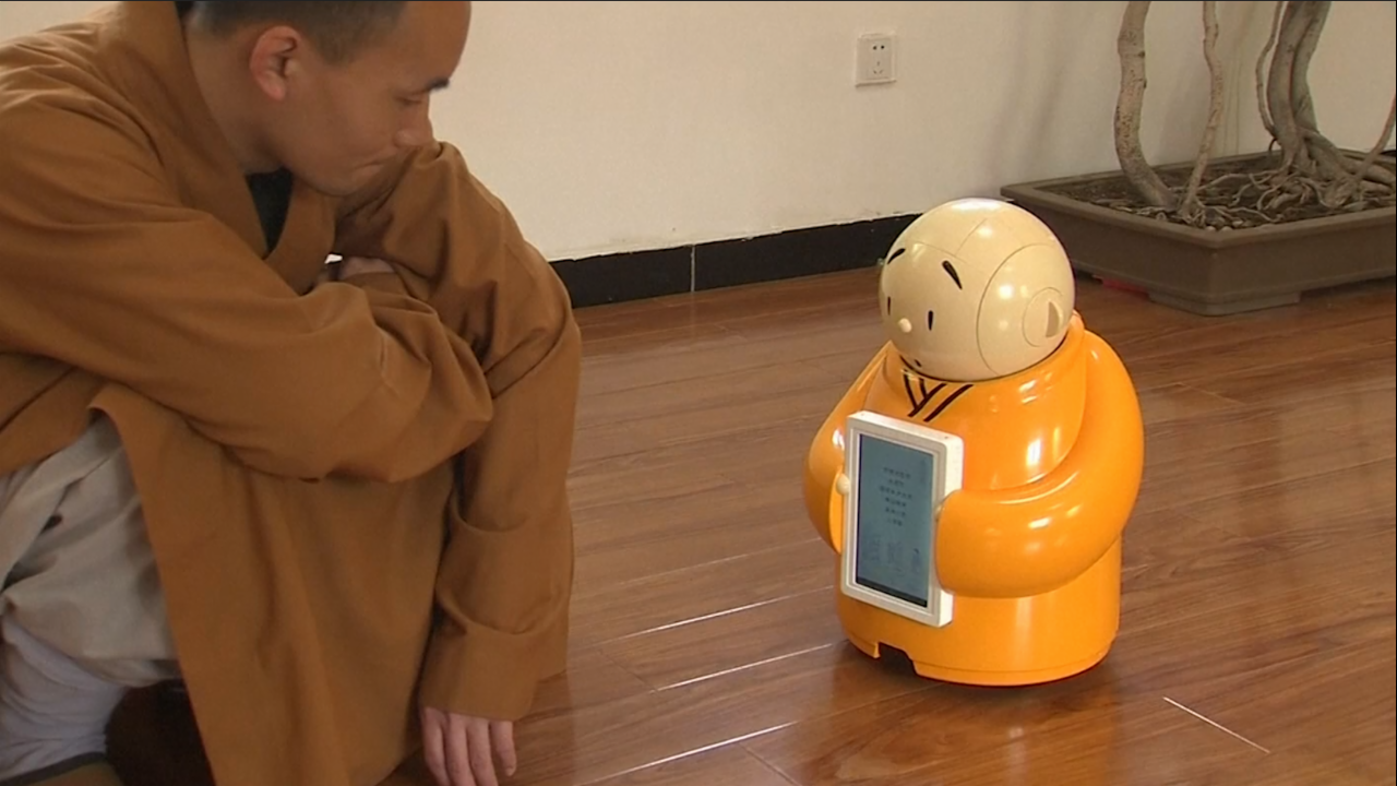 Buddhism's High Tech Upgrade is this Cute Robot Monk