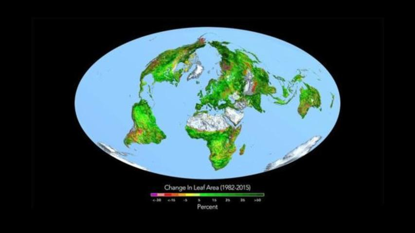 Increased Levels Of CO2 Actually Making Earth Greener