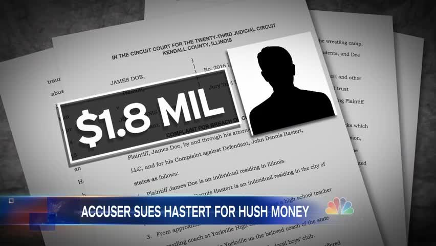 Accuser Suing Former Speaker Hastert for $1.8M