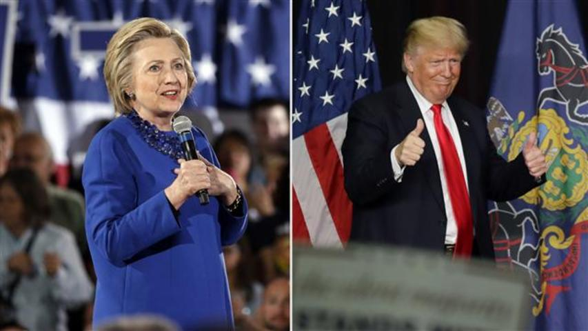 Clinton, Trump in Strong Positions for Tuesday