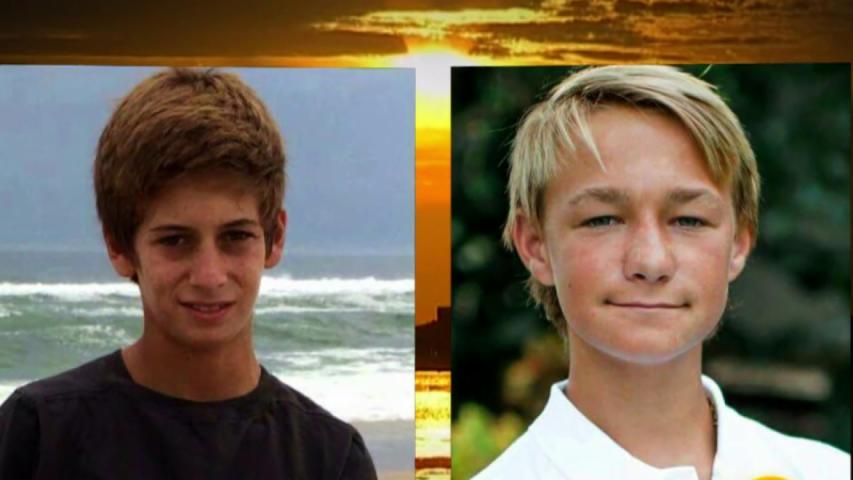 Parents of 2 teens lost at sea battle over iPhone found on abandoned boat