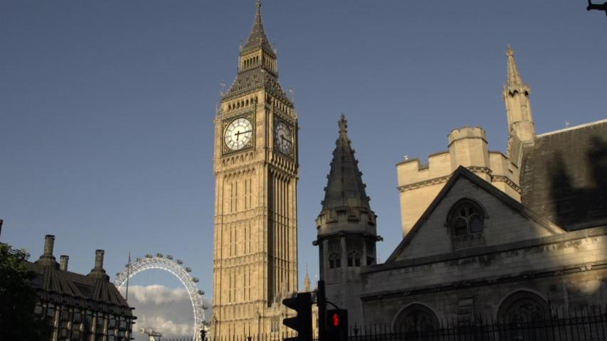 Britain's Famous Big Ben Silenced
