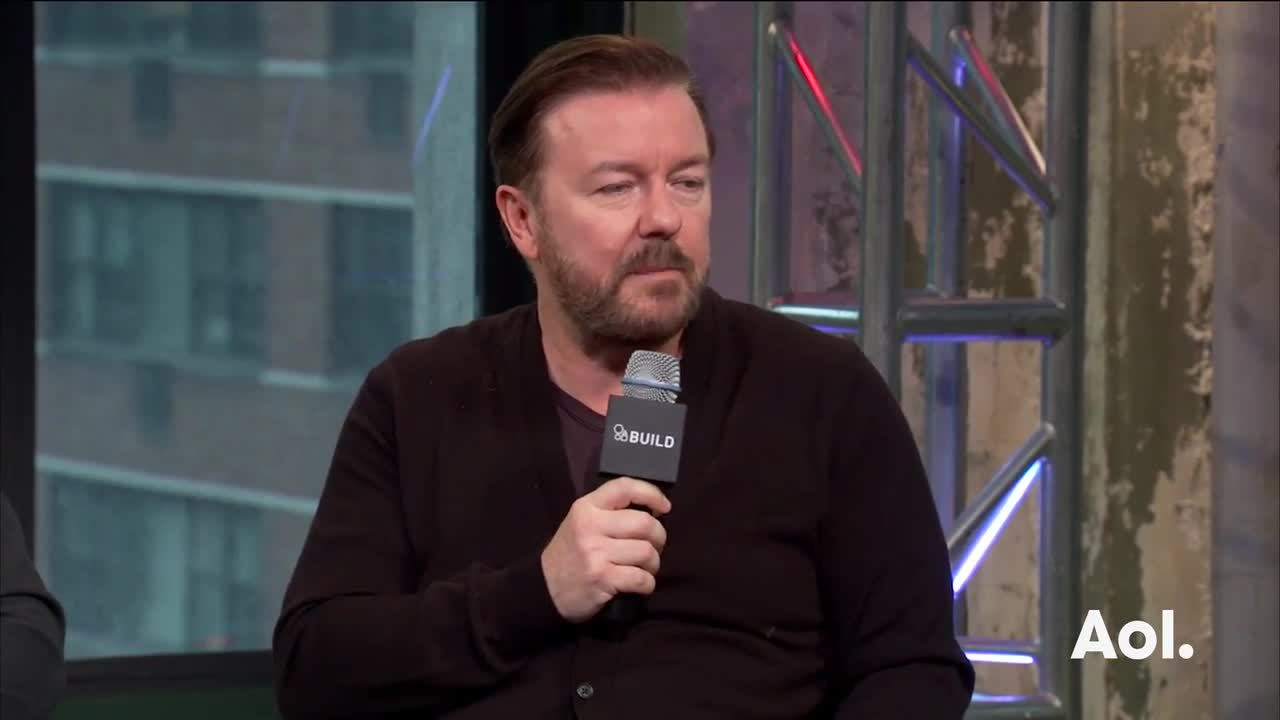 "Ricky Gervais and Eric Bana On ""Special Correspondents"""