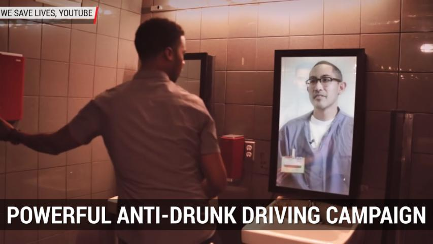 Powerful Anti-Drunk Driving Campaign | Autoblog Minute