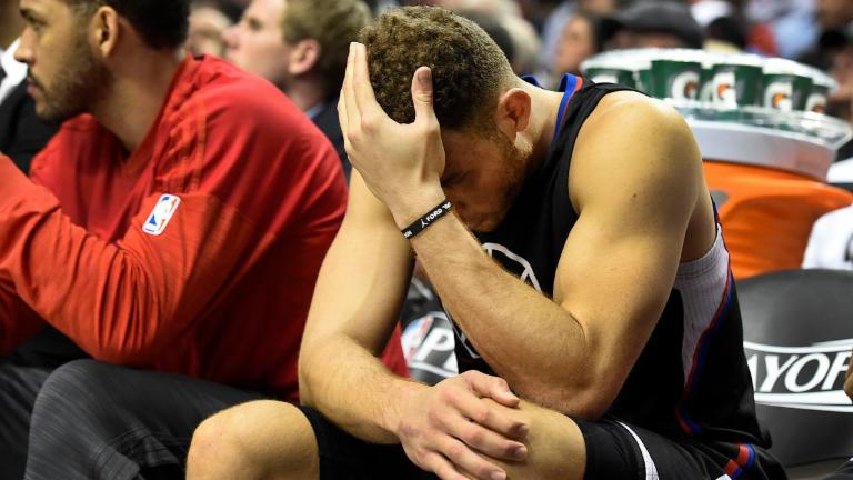 Clippers' Blake Griffin (Quad) out for Remainder of Playoffs