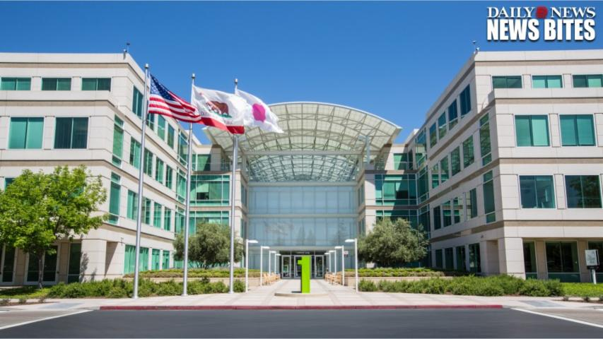 Deputies Are Investigating A Dead Body Found On Apple's California Campus