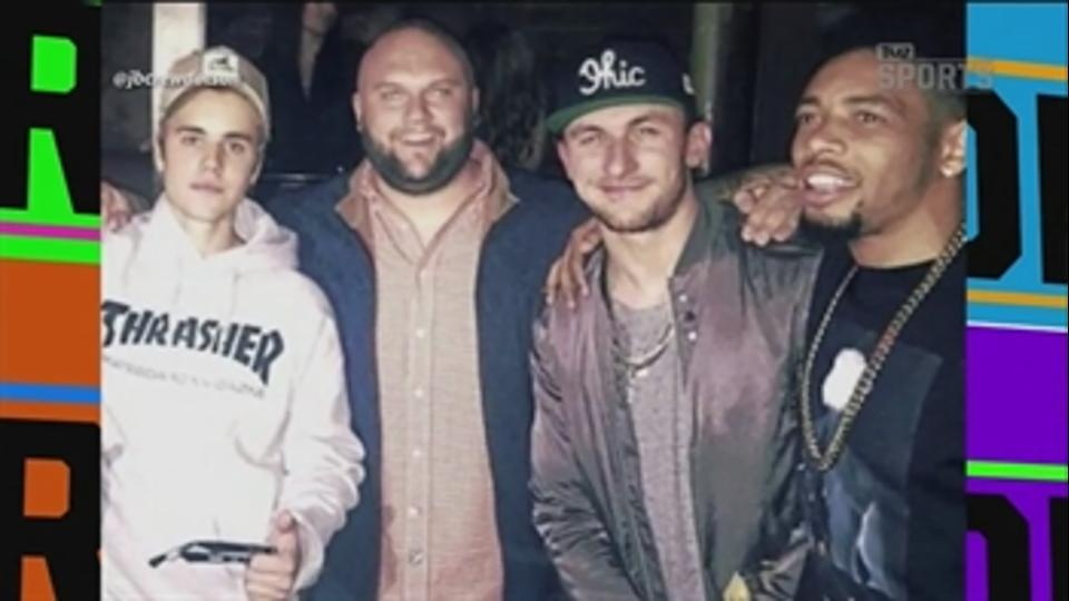 Johnny Manziel hit Bieber concert hours after grand jury indictment - 'TMZ Sports'
