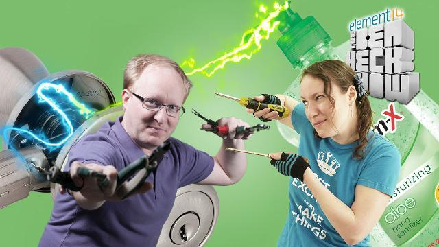 The Ben Heck Show - Episode 235 - Ben Heck's Automatic Sanitizing Doorknob