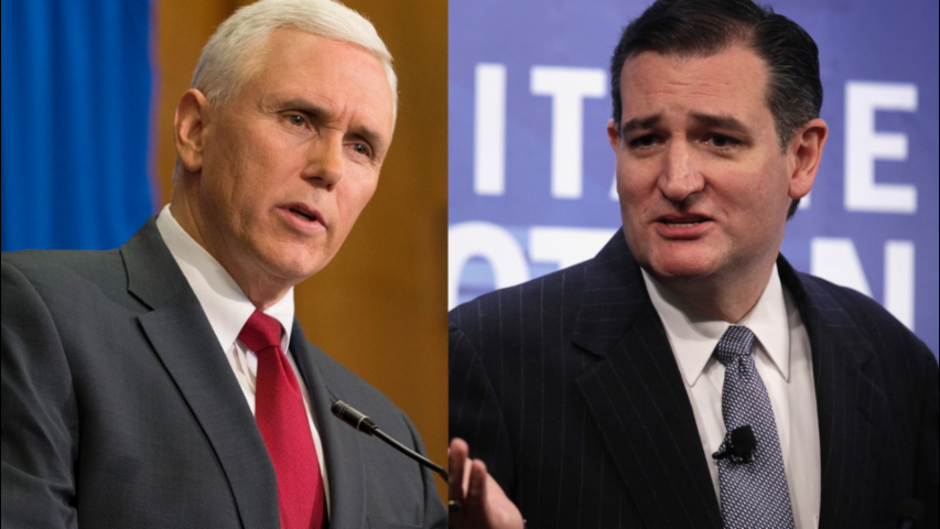Indiana Gov. Mike Pence Endorses Ted Cruz Ahead of State's Primary