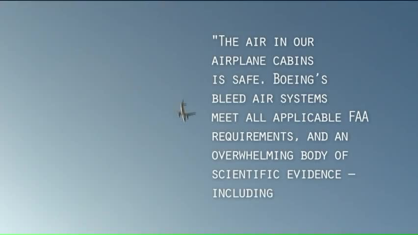 How Safe is the Air on a Commercial Flight?
