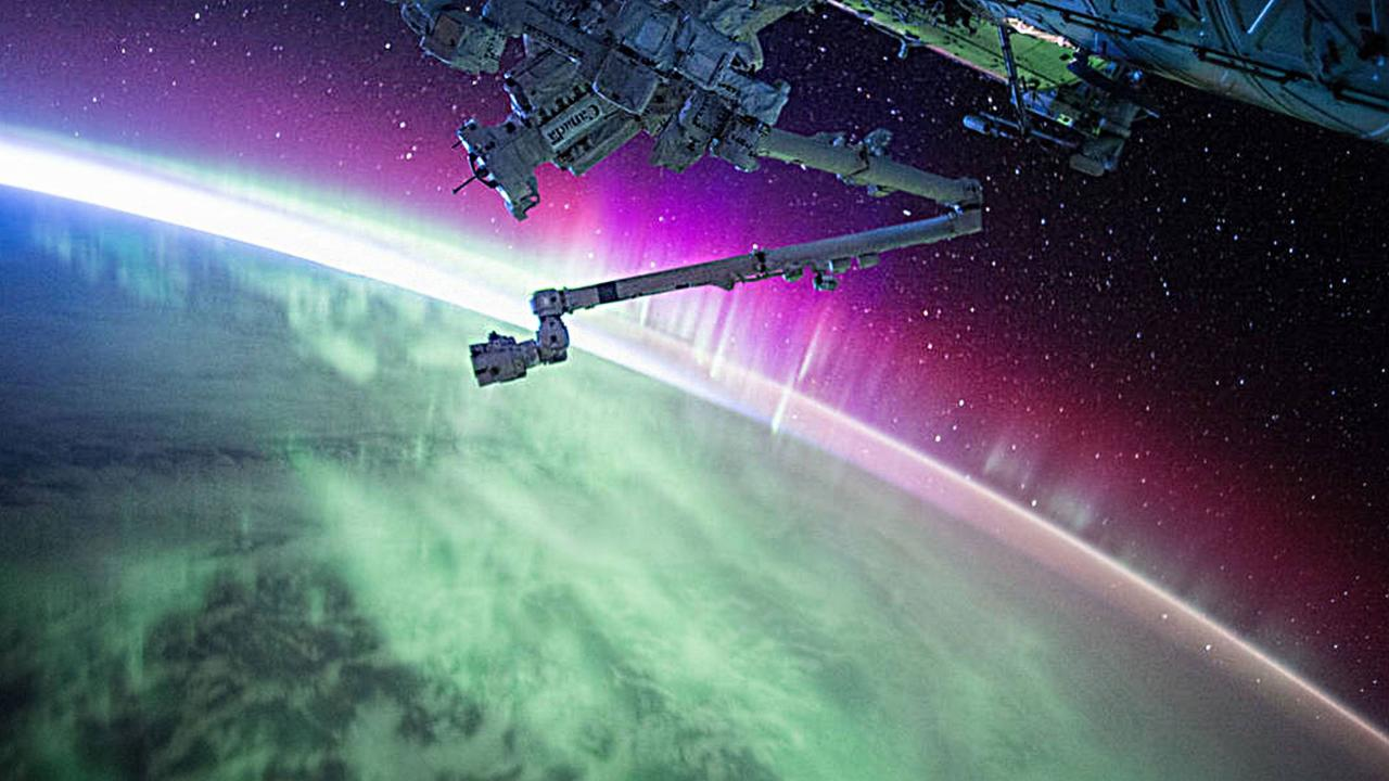 'Space's Deepest Secrets': Aurora Light Show as Seen from Orbit