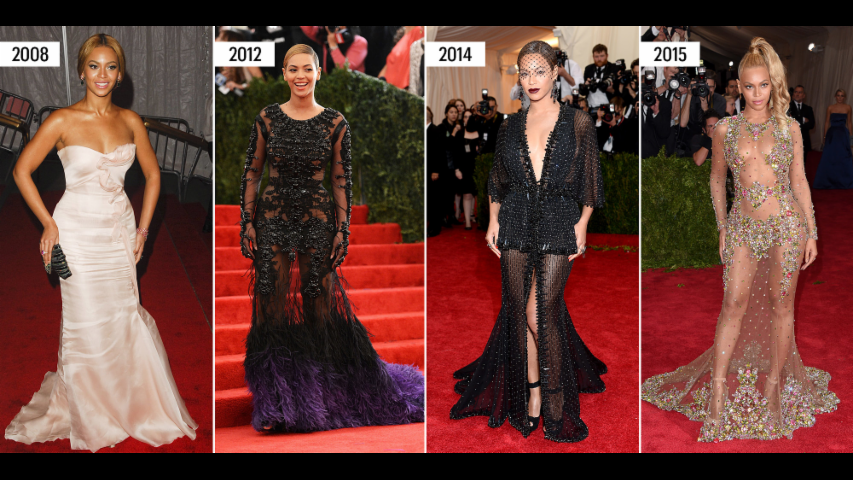Everything Your Favorite Stars Have Ever Worn to the Met Gala