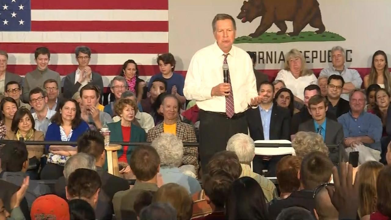 "Kasich: Republicans will be ""wiped out"" if Trump is nominee"