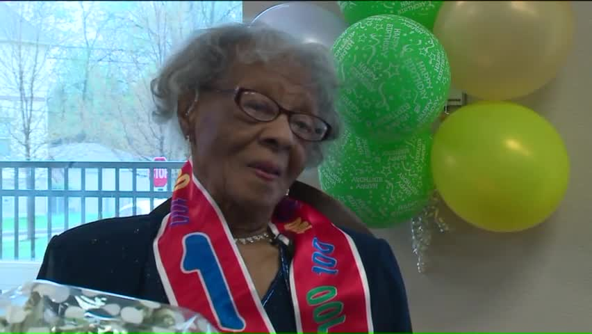 Woman Shares Secret To Long Life On Her 100th Birthday
