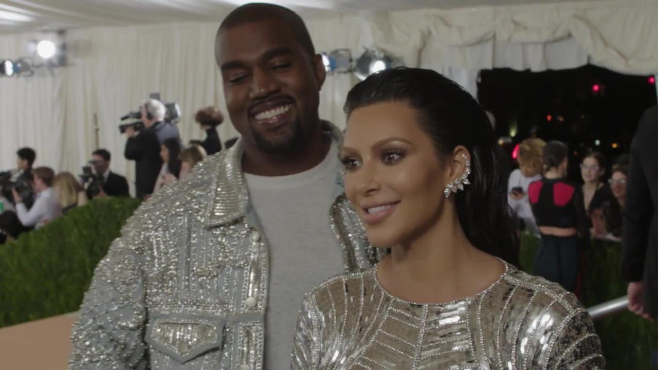 Kim Kardashian and Kanye West on Eating Reindeer at Met Gala 2016