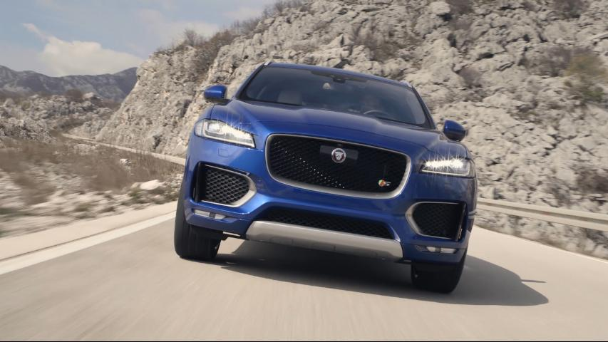 2017 Jaguar F-Pace First Drive