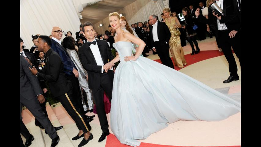 Claire Danes Shines At The Met Gala
