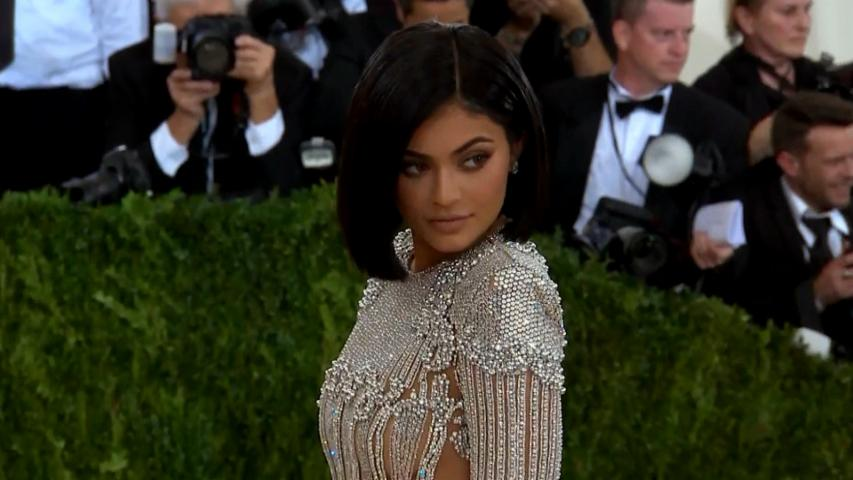 Kylie Jenner's Met Gala 2016 Gown Makes Her Bleed