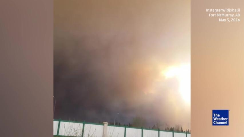Massive Wildfire Causes Evacuations in Alberta, Canada