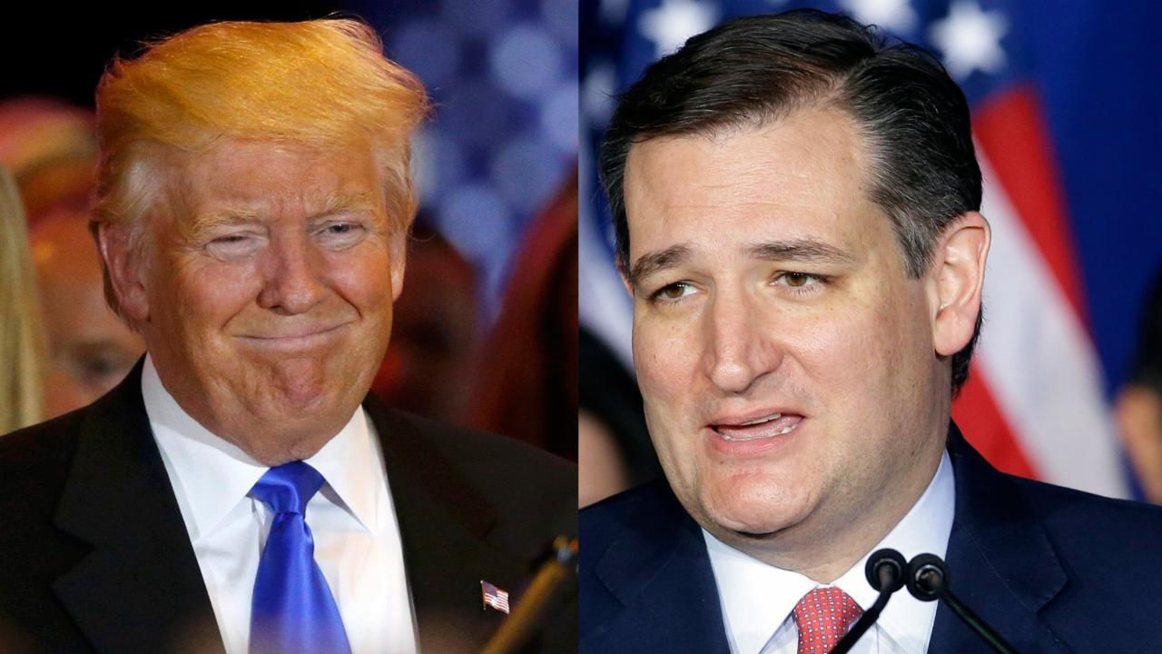 Cruz drops out as Trump celebrates 'amazing' night in Indiana