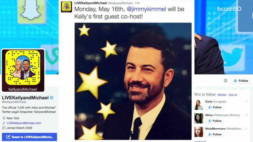 Jimmy Kimmel Will Be Kelly Ripa's 1st Guest Co-Host