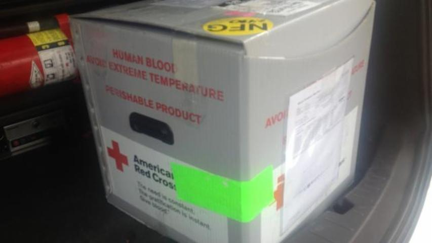 Wisconsin Man Finds Box Of Human Blood On The Road