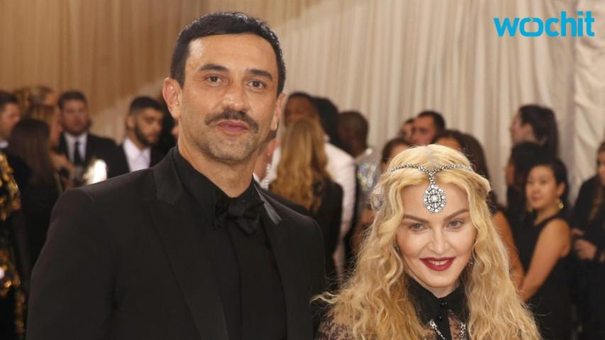 "Madonna Deems Met Gala Outfit A ""Poltical Statement"""